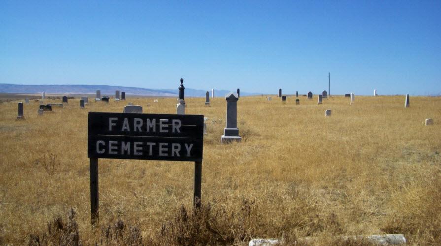 Farmer Cemetery, Douglas County,  Washington state, 2005